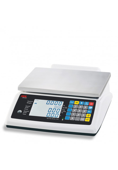 ADE-Elektronische Ladenwaagen – Serie LWX200 (geeicht)