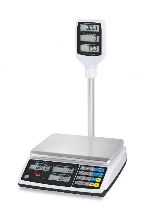 ADE-Elektronische Ladenwaagen – Serie LW300T (geeicht)