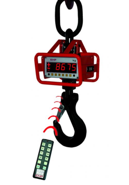 EHP Digital-Kranwaage LD / LDN mit Rammschutz, eichfähig