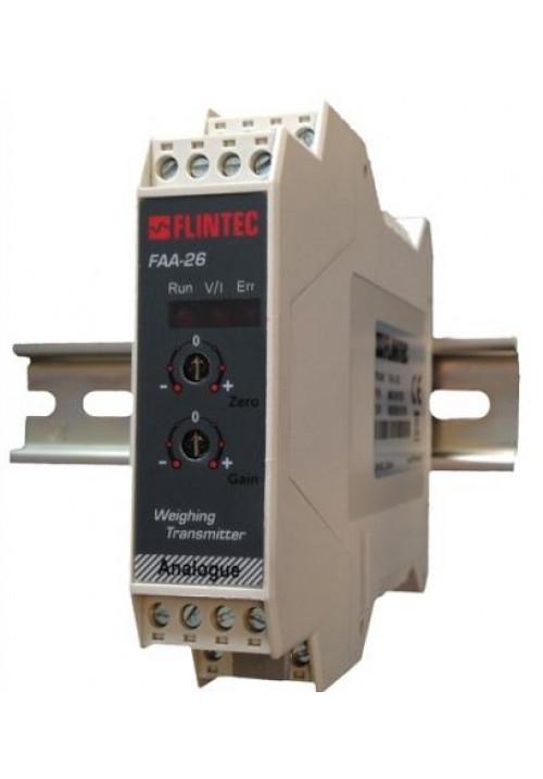 Flintec Analogverstärker Typ FAA-26 + FAA-27